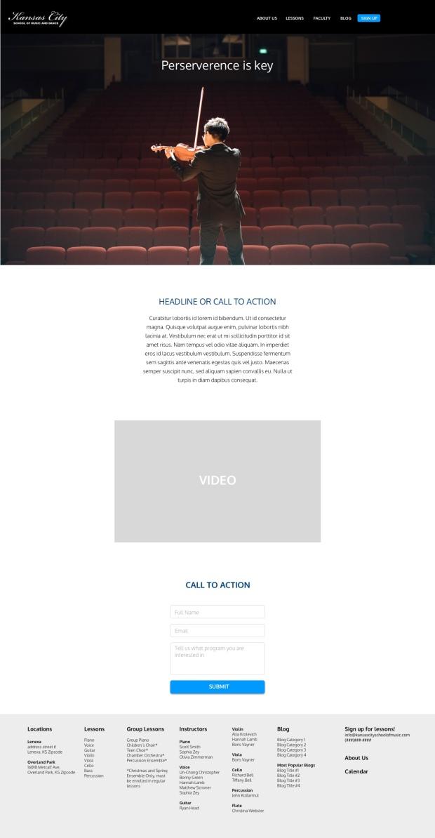 Homepage 3.1
